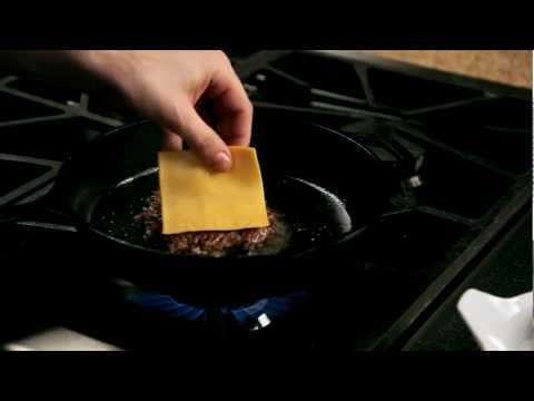 How to make a homemade burger &#8211; #14 &#8211; Adding cheese to the burger  Appetites
