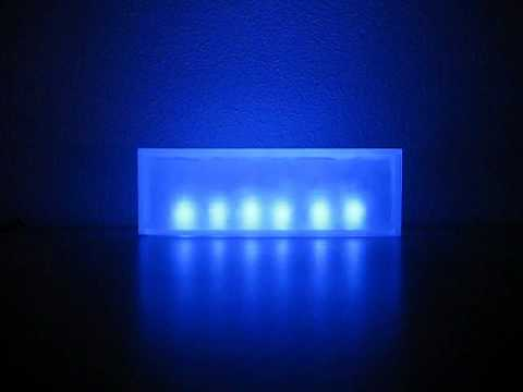 Lights that react to music