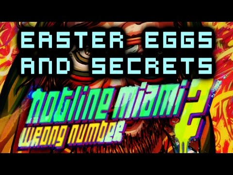 Hotline Miami 2: Wrong Number Easter Eggs And Secrets