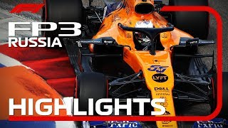 2019 Russian Grand Prix​: FP3 Highlights