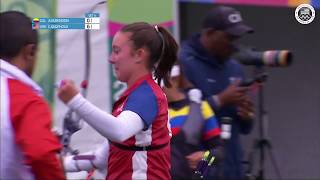 Casey Kaufhold Shoots for Bronze in Women's Archery | Pan American Games Lima 2019