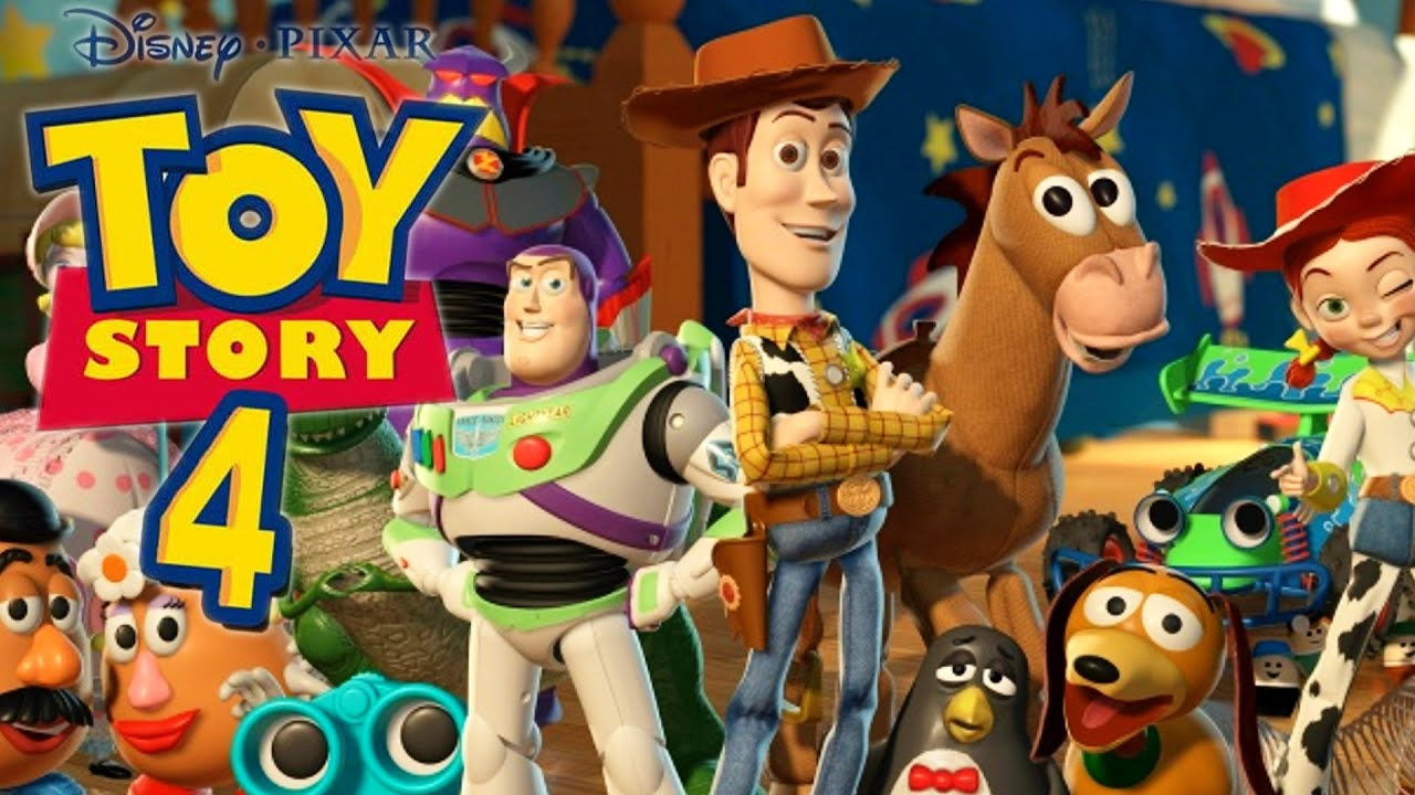 Toy story 4 youtube for Toy story 5 portada