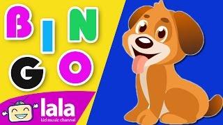 Bingo Dog Song - Nusery Animated Cartoon Rhymes - LalaTV - Nursery Rhymes With Lyrics