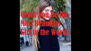 Thylane Blondeau Named The Most Beautiful Girl in the World at the age of six