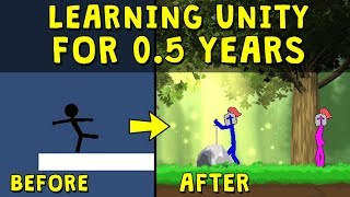6 Months of Learning Game Development in Unity (Progress & Result)