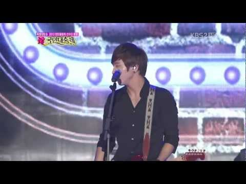 120814 CNBLUE - Hey You KBS Olympic London 2012 Festival