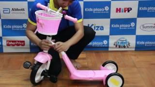 Giới thiệu xe trượt cho bé Mamago Angel Wings 2 trong 1