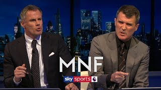 Roy Keane & Jamie Carragher clash over their combined Liverpool 2020 and Man Utd 1999 XI | MNF