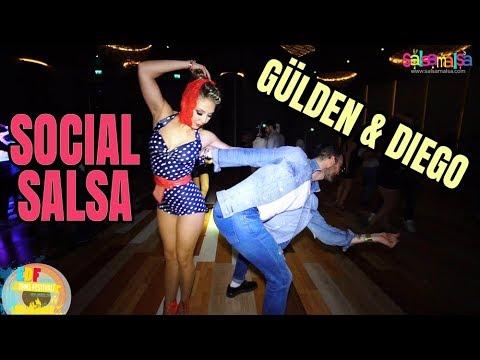 Social Salsa Dance | Diego - Gülden | EDF-2018