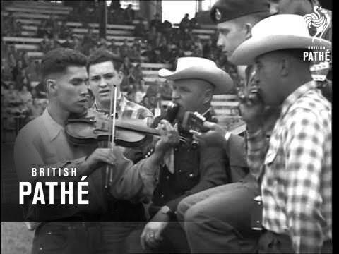 Rhine Army Horse Show AKA News From Germany (1954)