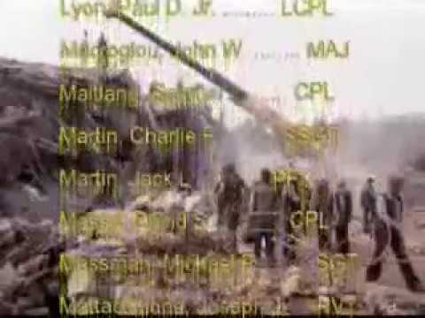 TRIBUTE TO  US MARINE SOLDIERS OF 23-10-1983 ,BEIRUT BOMBINGS-9/11 -2001,29-10-2005