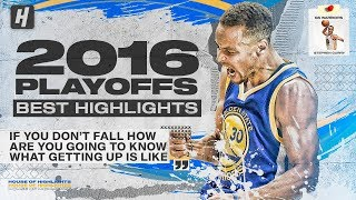 Stephen Curry EPIC 2016 NBA Playoffs & The Finals! BEST Highlights & Moments!