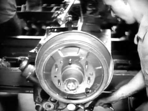Fascinating 1936 Footage Of Car Assembly Line Youtube