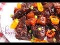 Sweet and Smokey Pork Spare Ribs - I Heart Recipes