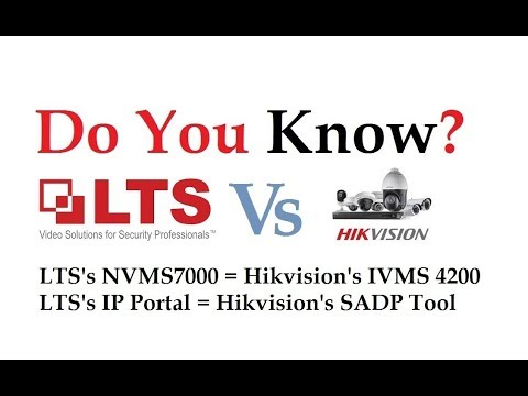 NVMS7000 Client Software Installation and Configuration Hikvision Supported