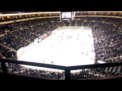 Warm Ups Before The Game (Winnipeg Jets vs San Jose Sharks, March 17, 2015)