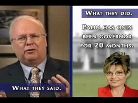 Rove on Palin or Kaine