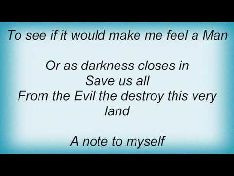 Illdisposed - A Song Of Myself Lyrics