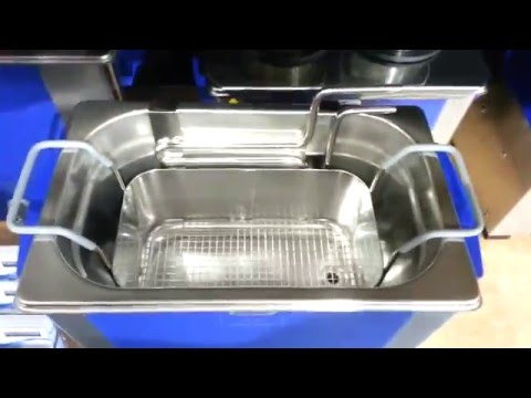 Elma Ultrasonic Cleaner S40 with Cooling Coil & Basket