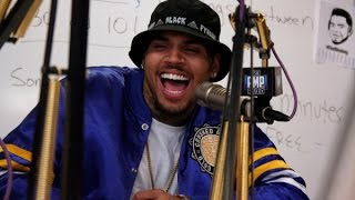 Chris Brown & Tyga Interview Each Other at 92.3 AMP Radio