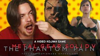 Hot Pepper Game Review - Metal Gear Solid V: The Phantom Pain ft. Egoraptor