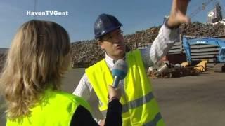 HavenTV Gent op AVS - 09 - 6 september 2012: de levenscyclus van staal in de Gentse haven