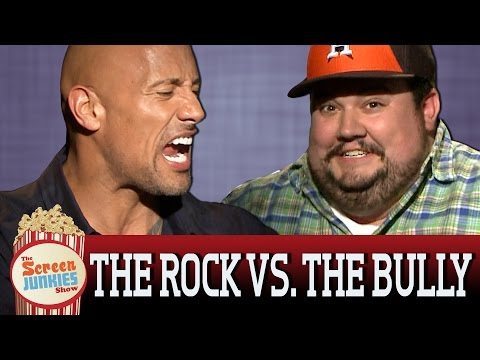 The Rock Smacks Down High School Bully