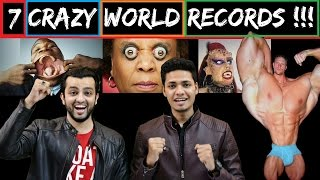 TOP 7 CRAZY & SHOCKING WORLD RECORDS ! l The Baigan Vines