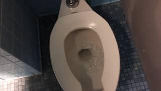[389 - UofR 7] Odd bathroom with mixed older American Standard fixtures