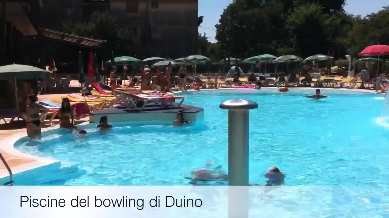 Le piscine del bowling di duino youtube - Del taglia piscine opinioni ...