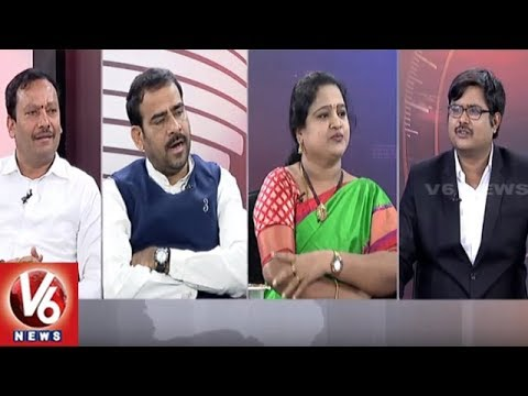 Special Debate On Merging Of CLP In TRSLP | Good Morning Telangana | V6 News