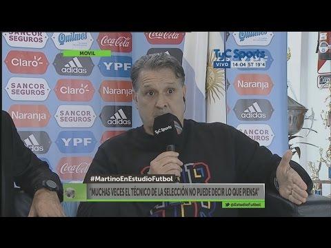 """Gerardo Martino: """"¿Qué razón hay para no citar a Agüero o Higuaín?"""""""