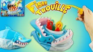 Fish Trouille Jeu de Société de Requin Shark Bite Game Partie de Pêche Poisson Jouet Toy Review
