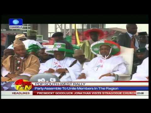 News@10: Northern Leaders Endorse Jonathan For 2015 Election 200914 Pt.1