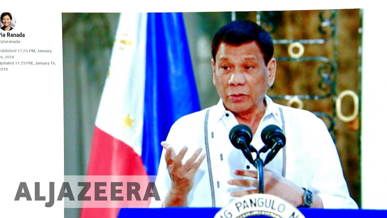Duterte denies ordering shutdown of news site Rappler