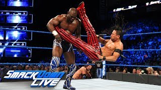 AJ Styles & Shinsuke Nakamura vs. Chad Gable & Shelton Benjamin: SmackDown LIVE, April 3, 2018
