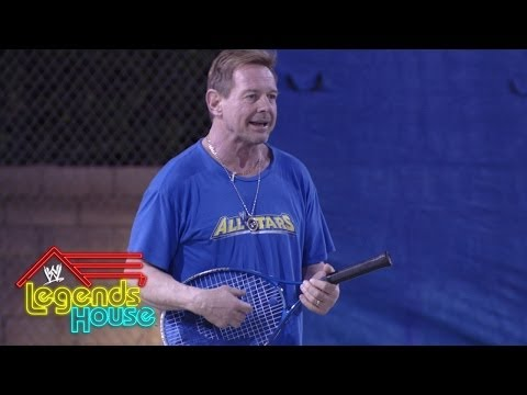 The Legends Engage In A heated Game Of Tennis: Wwe Legends' House, April 17, 2014 video