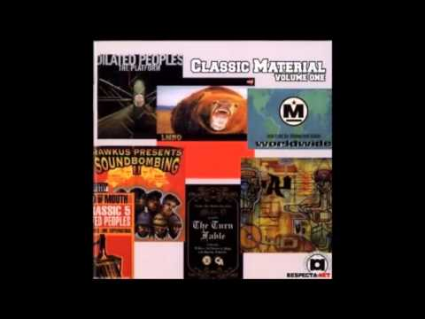 Beat Junkies - Classic material vol 1   mixtape