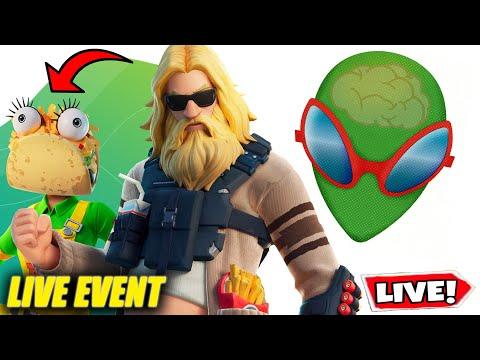 OMG *JETZT* NEUES LIVE EVENT 😱 KOSTENLOSE GESCHENKE?! | FORTNITE LIVE CUSTOM GAMES | SKINCONTEST
