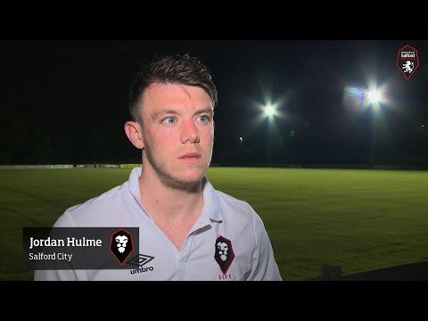 Salford City 2-2 Colwyn Bay - Jordan Hulme post-match interview
