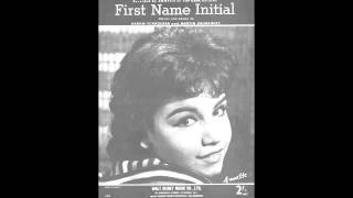 Annette Funicello - First Name Initial