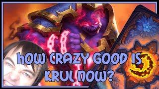 Hearthstone: How crazy good is Krul now? (renolock)