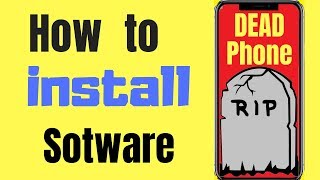 How to install Software in phone | Repair Brick Phone
