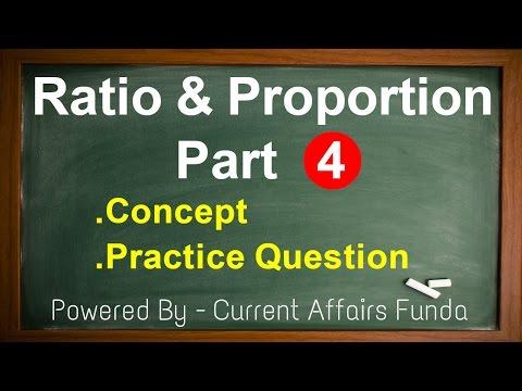 Ratio & Proportion Part 4 Detailed explanation (IBPS,SSC CGL 2016,CSAT,SBI PO,Railway,NDA,PCS,MAT) thumbnail