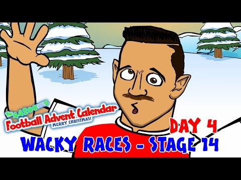 🚦RACE 14🚦 Premier League Wacky Races (Day 4 Football Advent Calendar)