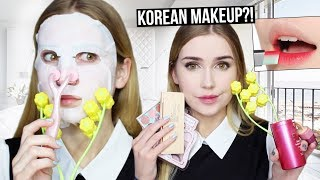 FULL FACE USING KOREAN MAKEUP | From Yesstyle!!