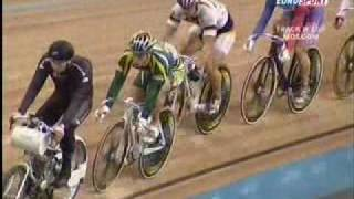 Moskow World Cup 2005 Keirin (Gregory Bauge ,VAN EIJDEN Jan, Edgar Ross , Vinokurov , Tim Veldt)