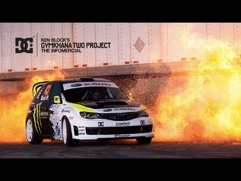 Dc Shoes: Ken Block Gymkhana Two The Infomercial video