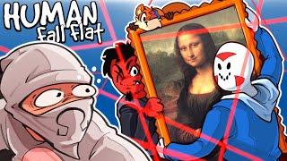 Human Fall Flat - I AM A MASTER THIEF! (I want the treasure)