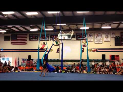 Chaminade High School Aerial / Dance @ Rally 8/30/13